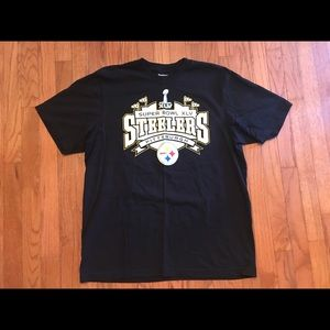 Pittsburgh Steelers super bowl shirt size XL